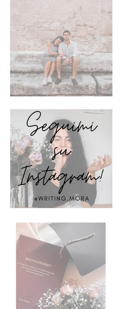 Segui Writing Mora su Instagram!