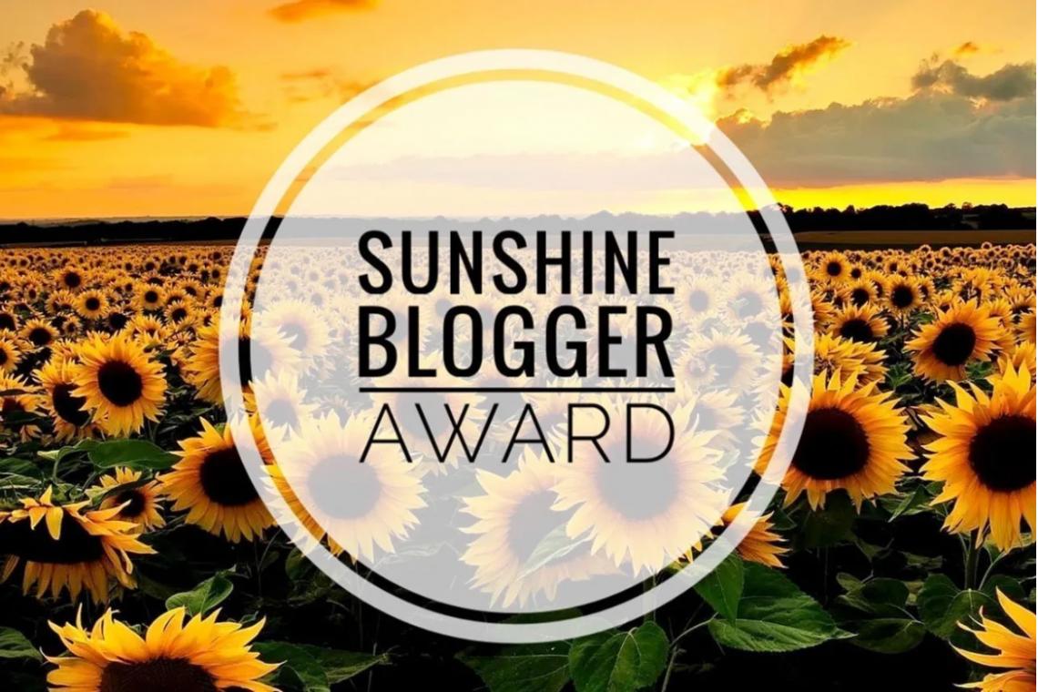 Logo dei Sunshine Blogger Award